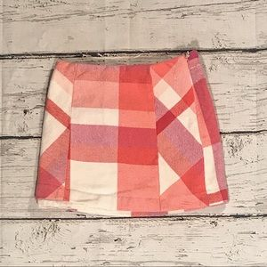 GYMBOREE : Little Girl Plaid Skirt : size 4